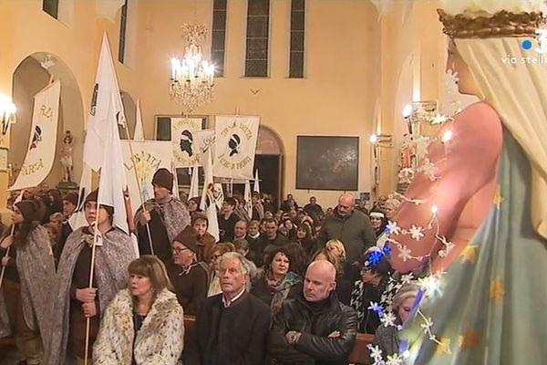 Le 8 décembre est le jour d'a festa di a Nazione. Pour célébrer le placement de la Corse sous la protection de l'Immaculée conception, des festivités ont été organisées cette semaine un peu partout dans l'île.