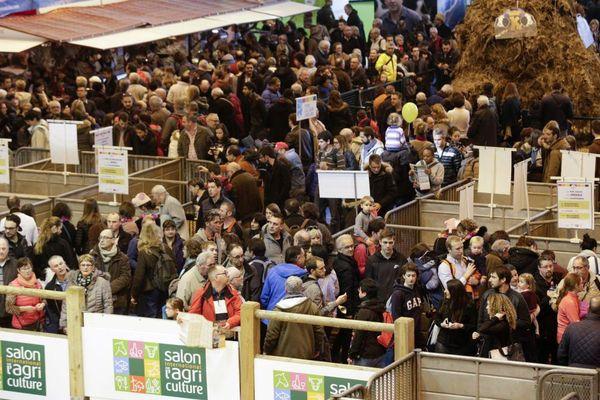 Chaque année, le Salon international de l'agriculture qui se tient à Paris attire des milliers de visiteurs