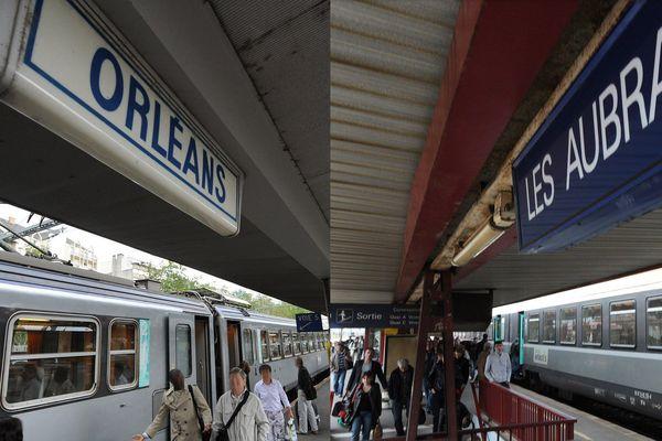 Photo d'illustration à la gare d'Orléans.