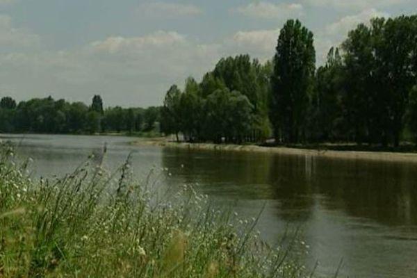 Région Centre/Val de Loire : l'axe ligérien mis en avant.