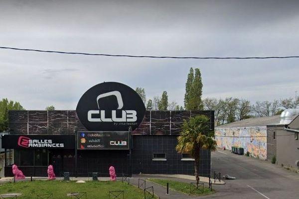 La discothèque Le O'Club à Toulouse