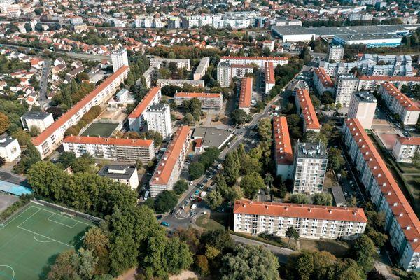Le quartier du Morillon à Montreuil, un des 2 quartiers de la ville qui sera réaménagé.