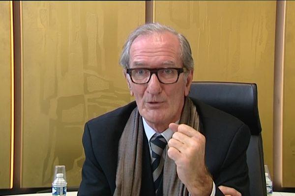 Joël Batteux, maire de Saint-Nazaire jusqu'en 2014