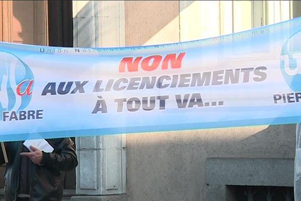 Grève et manifestation sont choses rares à Pierre Fabre.