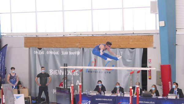 Julien Maréchal de l'équipe Lille Métropole Jeunesse Sportive Madeleinoise