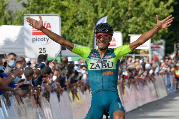 L'italien Luca Wackermann a remporté la première étape de ce Tour du Limousin 2020