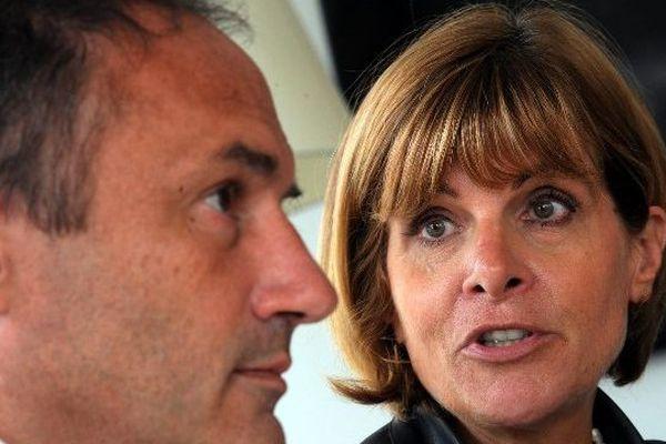 Anne Lauvergeon, Présidente de Sigfox et Ludovic Le Moan Directeur Général