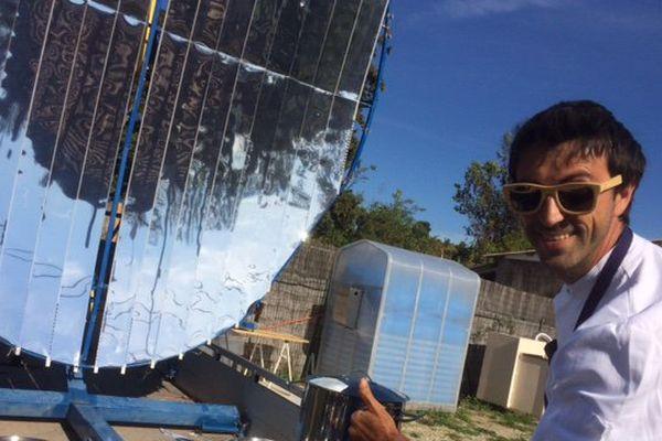 Cuisine solaire, restaurant éphémère à Aubagne : un projet de restaurant autonome en énergie