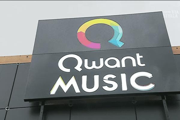 Les locaux de Qwant Music, à la sortie d'Ajaccio, en 2018