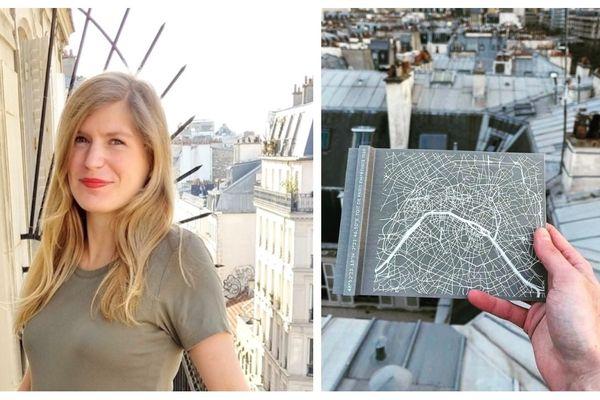 """La créatrice parisienne Constance Fichet-Schulz a fondé en février 2020 la start-up """"les toits de Paris"""". Son objectif: donner la possibilité d'acquérir un morceau des toits de zinc de Paris."""