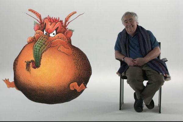 Claude Ponti a su se débarrasser des monstres de son enfance en les triturant dans chacun de ses ouvrages.