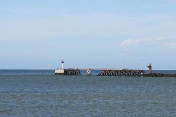 L'accident s'est produit sur la jetée Est de Dunkerque, au niveau de l'écluse Tixier