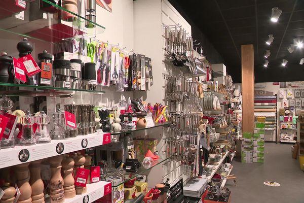 Le magasin Ambiance et Style, fermé pour cause de confinement