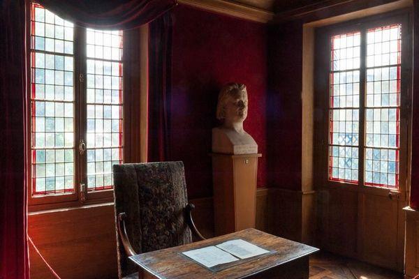 Le cabinet de travail de Balzac