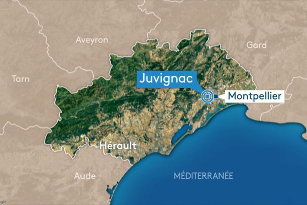Carte Juvignac