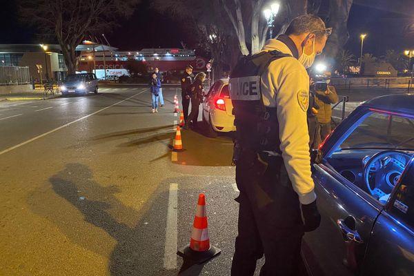 ILLUSTRATION. Un policier a été blessé samedi 6 février après qu'un véhicule ait refusé d'obtempérer à un contrôle routier.