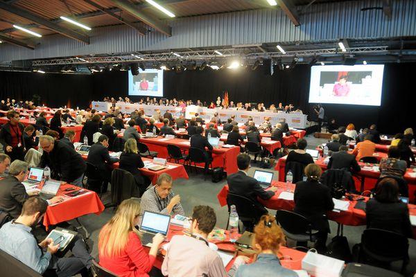 Séance plénière du conseil régional au Parc des Expositions de Montpellier