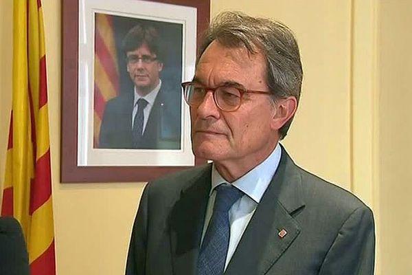 Perpignan - Président de la Generalitat de Catalunya de 2010 à 2015 - 4 juin 2018.
