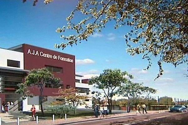 Le nouveau centre de formation comprend 27 chambres, des salles de classe, des vestiaires, une salle de balnéothérapie...