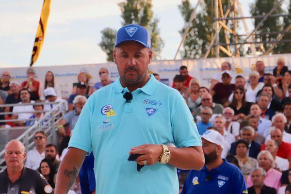 Puccinelli remporte son troisième Mondial La Marseillaise à pétanque.