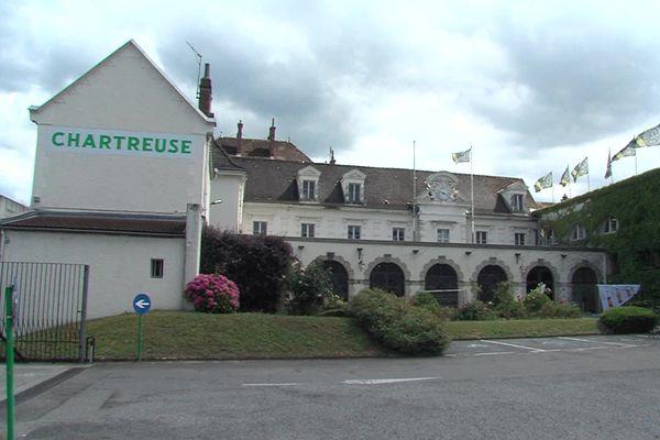 Les caves de Chartreuse à Voiron en Isère