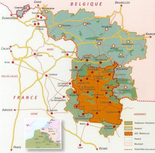 Les producteurs de maroilles dans les Hauts-de-France