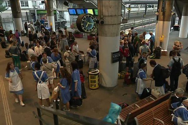 Amiens : départ de 1 500 pèlerins à destination de Lourdes