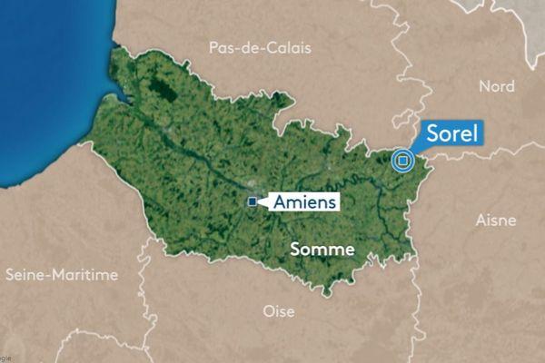 Le corps d'un homme a été découvert dans un caveau du cimetière de Sorel, dans la Somme.