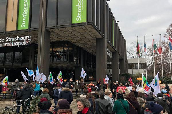 Plus de 300 personnes ont manifesté.