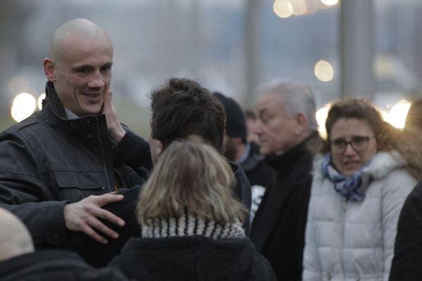 Christophe Dettinger est sorti le 20 février dernier de la prison de Fleury-Mérogis.