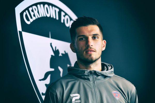 Meilleur buteur de la saison, Adrian Grbic un joueur phare du Clermont Foot