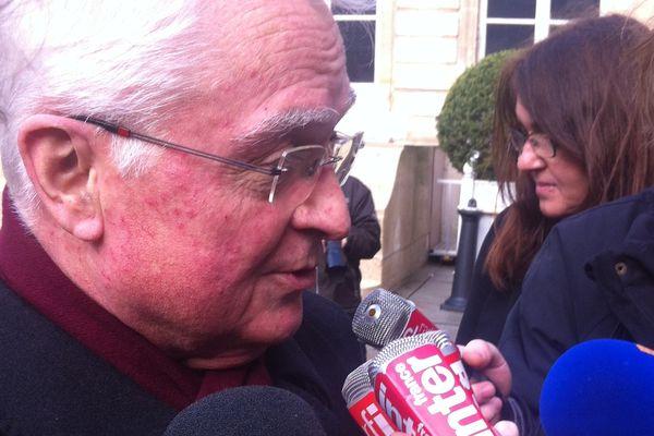 Claude Chéreau, après la remise du rapport de la commission  de dialogue