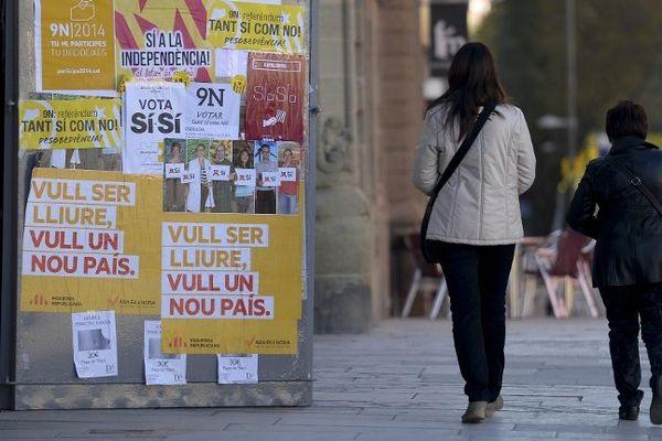 Les Catalans s'apprêtent à voter dimanche malgrè l'interdiction du gouvernement espagnol