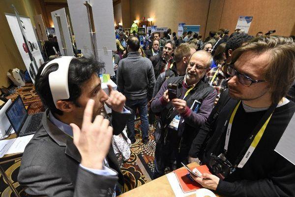 Le Consumer Electronics Show a lieu jusqu'au 9 janvier à Las Vegas.