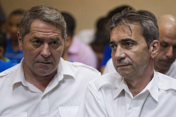 Pascal Fauret et Bruno Odos, les deux pilotes rhône-alpins mis en cause dans cette affaire.