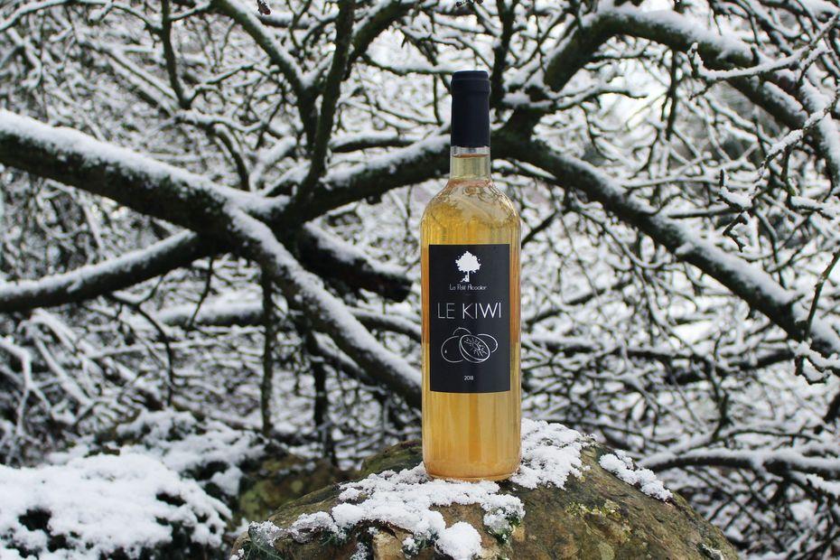 Un alcool à base de Kiwi produit à Belmesnil