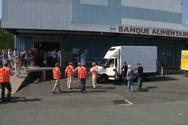 La Banque alimentaire de Bordeaux est la plus importante de Nouvelle Aquitaine