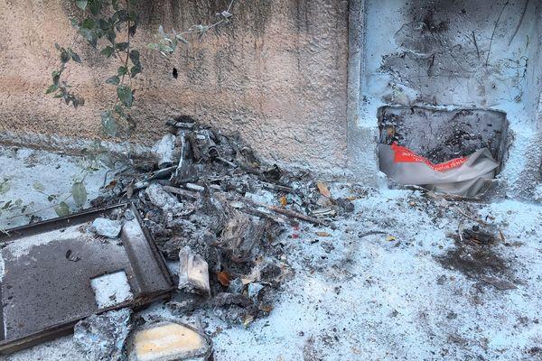 A trois heures du matin, les propriétaires ont entendu une série d'explosions.