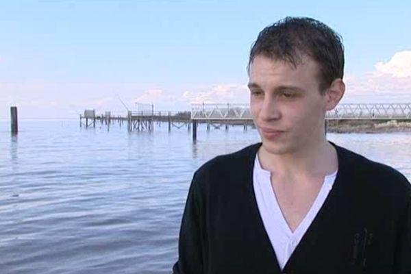 Le jeune homme qui a plongé pour sauver la fillette à Vitrezay (17).