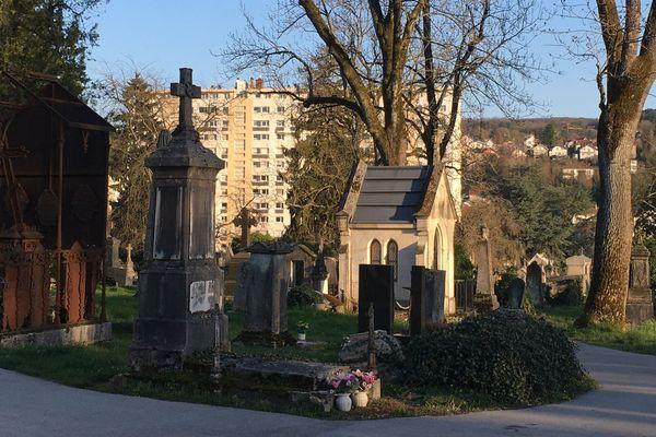 Les cimetières de Besançon sont fermés au public pendant l'épidémie