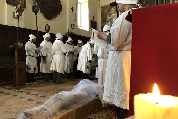 Pâques - Cérémonie di a Schjudazione à Monticello (Haute-Corse)