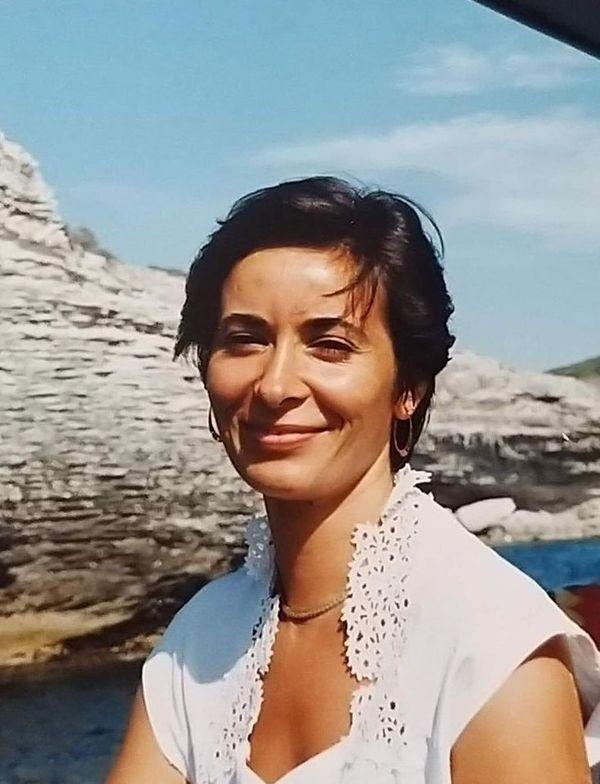 Photographie de Nadine Devillers jeune, prise par un ami. La Niçoise de 60 ans a été tuée jeudi dans 29 octobre dans la Basilique Notre-Dame.