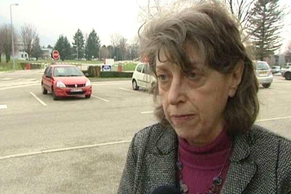 Michèle Bonneton, députée écologiste de l'Isère