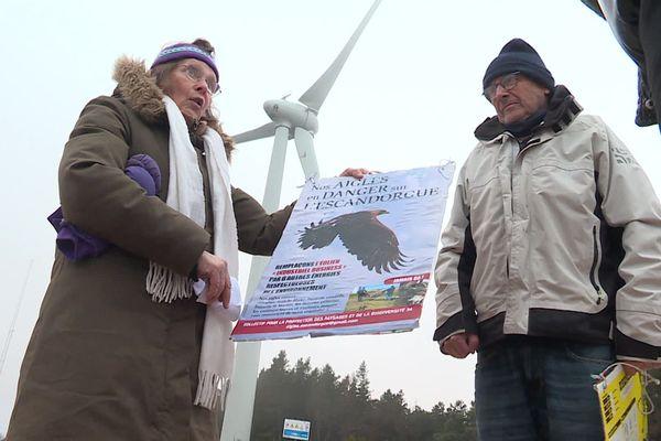 Marjolaine et son compagnon Dominique sont à la tête du collectif pour la protection des paysages et de la biodiversité - 11 décembre 2020