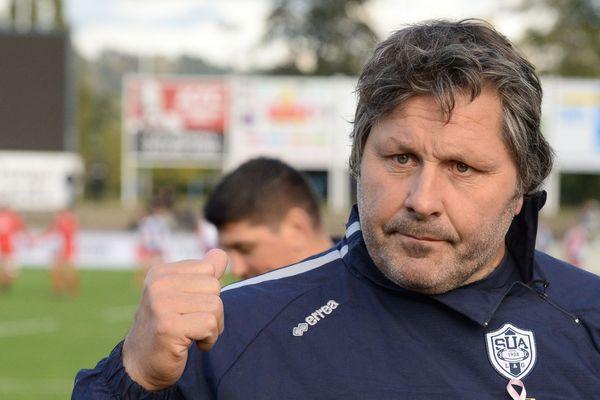 Mauricio Reggiardo, actuel manager du SU Agen entraînera Castres la saison prochaine