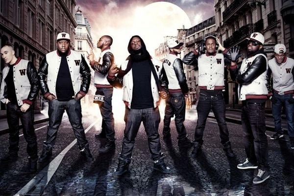 Groupe des rappeurs de Sexion d'Assaut, en tournée à Châlons-en-Champagne, le 3 mai 2013.