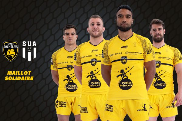Les maillots solidaires du Stade Rochelais