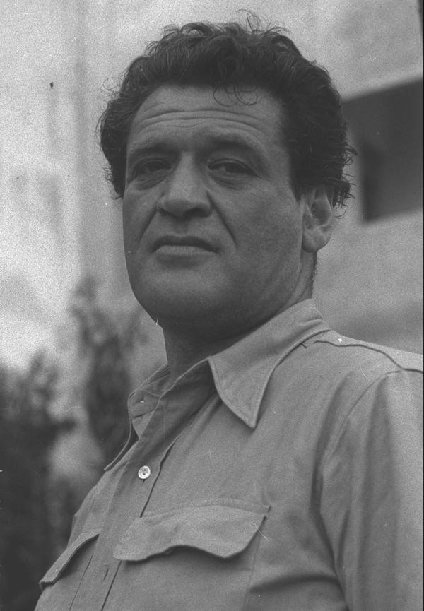 Joseph Kessel en juin 1948 pris en photo par Hans Pinn