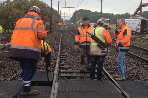 La SNCF a engagé les premiers travaux sur les voies entre Bordeaux et Toulouse