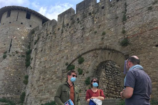 A Carcassonne, les visiteurs peu nombreux ont droit à des visites personnalisées - 12 juin 2020